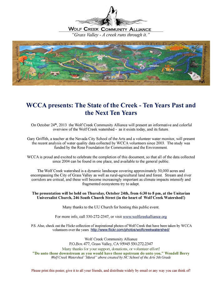 WCCA Oct 24 Press Release