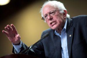 U.S. Senator Bernie Sanders of Vermont speaking at a town meeting at the Phoenix Convention Center in Phoenix, Arizona. July 18, 2015.